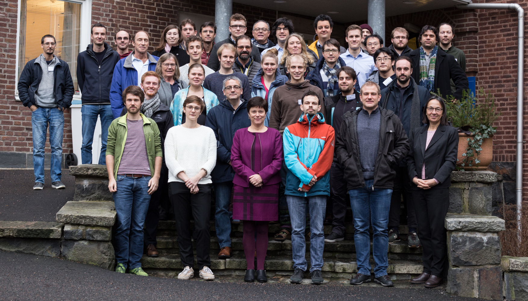 Group photo from the 8th Runaway Electron Modelling workshop 2020