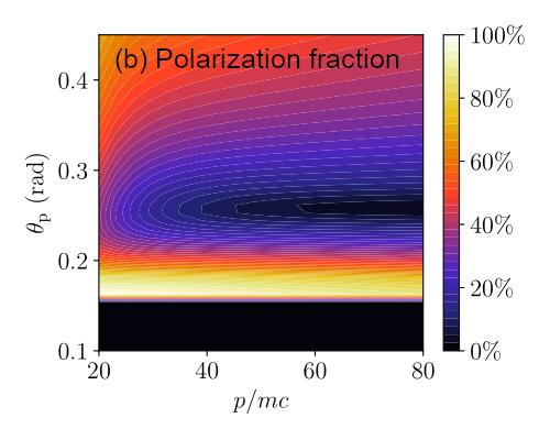 Polarization fraction